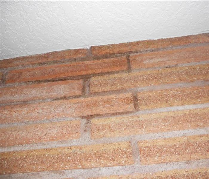 Water Damage Above Fire Place in Oregon City