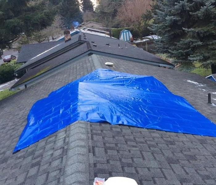 A Quick and Temporary Fix for a Leaky Roof