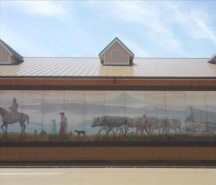 Beautiful Mural in Sandy, OR