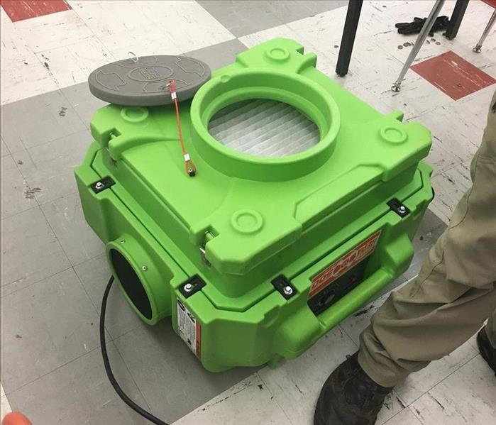 SERVPRO Equipment - Air Scrubber